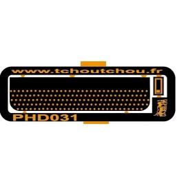 PHD31 : Marche pied + prise de charge 36*8.5 mm