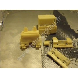 cabine renault major 1/87eme -