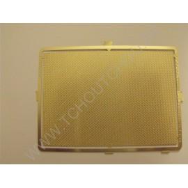 PHD024 : Tôle larmée grain de riz 70*100 (mm) laiton