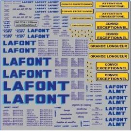 lafont et lafont almt- 1/50 - reservation