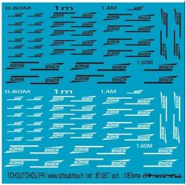 87.057 - logo sncf casquette - 1/87eme
