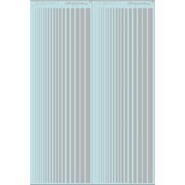 ms020 - argent - bandes couleurs