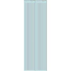 ms021- argent - Bandes couleurs 3 -