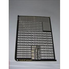 PHD001: photo découpe lettre + chiffre + michelin en 1/10mm