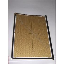 PHD005 :La tôle larmée 5 grain ( 70*100 mm ) - laiton 1/10 1/87eme