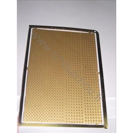 PHD117 :La tôle larmée 5 grain ( 70*100 mm ) laiton 1/10mm