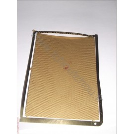 PHD116 :métal strié 70*100mm laiton 1/10