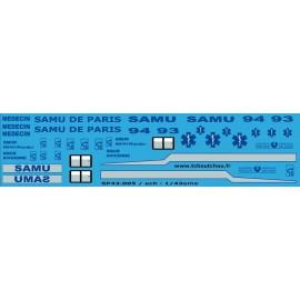 SP43.005 - SAMU PARIS - SAMU6 - 1/43eme