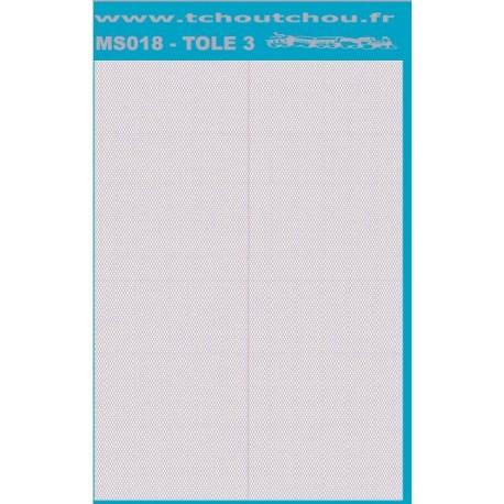 ms018 - tole inox/alu 3 - reservation