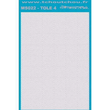 ms022 - tole inox/alu 4 - reservation