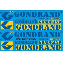 87.069 - GONDRAD - 1/87eme