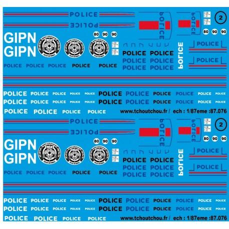 sp43.051 - POLICE 5 - 1/43eme - reservation