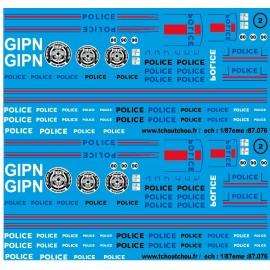 87.076 - police 2 - 1/87eme - reservation