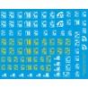 sp43.012.new - pompiers logo 18 et 112 - 1/43