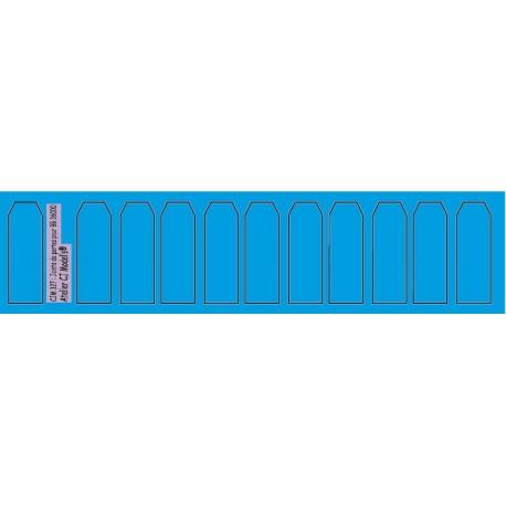 cjm327 - Joints de portes BB 36000 Jouef - 1/87eme