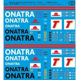 87.096 - onatra - 1/87eme HO