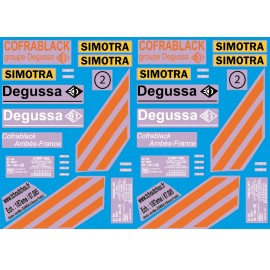 87.126 - wagon degussa + sinotra - 1/87eme Hp