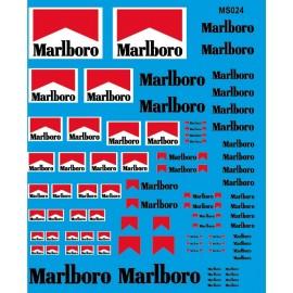 ms024 - Marlboro Blanc et Rouge 1/43 1/50 1/24 1/43 1/18