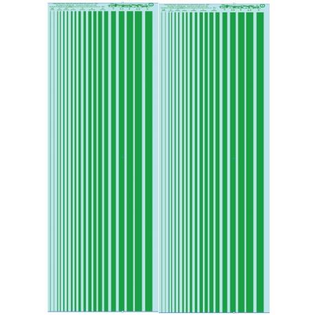 ms20 - vert ( clair)- pantone 3145C -:Bandes couleurs