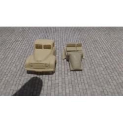 CHOCAB05 - Cabine citroen T55 - 1/87eme