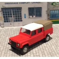 CHO401 - LAND ROVER 130 pickup pompier - 1/87eme