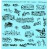 87.131 - tags / graffiti - 3 - Décalques - 1/87eme - HO