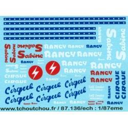 87.138 - cirque rancy 2- 1/87eme - HO