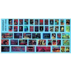 87.141 - affiches cirque - 1/87eme HO