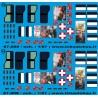 87.008 - vitrage master + fenêtre ambulance + rideaux FTP essonne 1 - 1/87eme