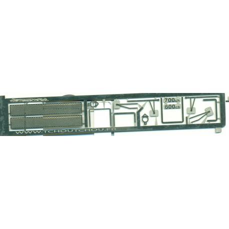 photodécoupe pour T100 1/87e