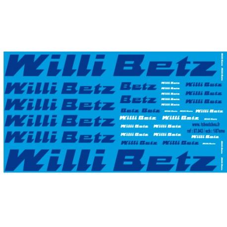 87.043 - willibetz 1/87eme HO