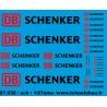 87.038 - DB schenker - 1/87eme HO