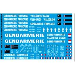 sp43.007- GENDARMERIE VAB du LIBAN - 1/43eme