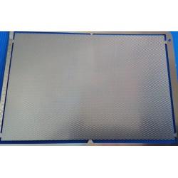 PHD017 :métal strié 70*100mm laiton 1/10mm 1/43 1/50