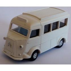 CHO461 - citroen HY mini BUS blanc - monté /ready - HO - 1/87eme
