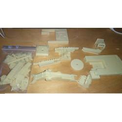 CHO1000 - POCLAIN 1000 CK M2 - bras retro - KIT - 1/87eme