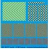 87.037 - zebra jaune fluo et fluo fluo fond bleu pour véhicule de gendarmerie 1/87eme HO