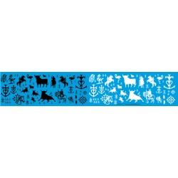 MSLU2 - carmague, gardian, provence, taureau , 1/43 1/50 1/18 1/24 1/87eme