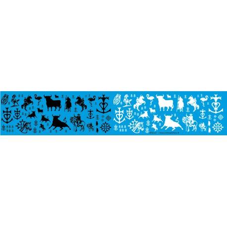 MSLU2 - - carmague, gardian, provence, taureau , 1/43 1/50 1/18 1/24 1/87eme