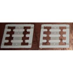 TCHOUP11 - coupons de raccordement pour les modules * 2 - 1/87eme HO