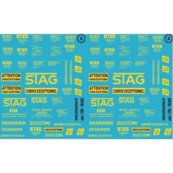46.032 - STAG et DESSIRIER ZUCCONI - 1/50 et 1/43 eme