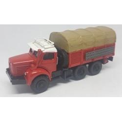 """CHO742 - berliet GBC 8 MK """" gazelle"""" - ROUGE - 1/87eme"""