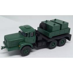 CHO1102 - BERLIET TBO M3 tracteur convois exceptionnels couleurs vert STAG OU DZ - Monté ready- 1/87eme HO