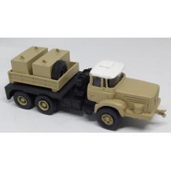CHO1101 - BERLIET TBO M3 tracteur convois exceptionnels couleurs millon - Monté ready- 1/87eme HO