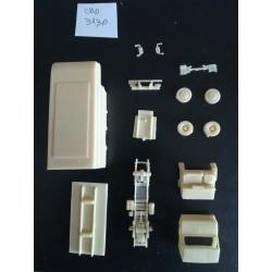 CHO3130 - berliet stradair porteur isotherme - kit - 1/87eme ho