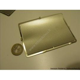 PHD026 : mailchort :Tôle larmée grain de riz 70*100 (mm) 1/43eme 1/50eme