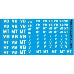 87.068 - VB, V, MT - 1/87eme -reservation