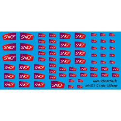 87.117 - logo sncf carmilllon -1/87eme