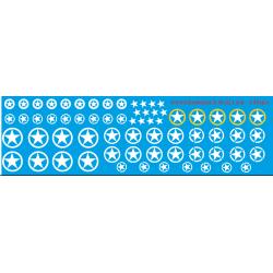 46.021 - étoile us army 1/43 1/48 et 1/50eme