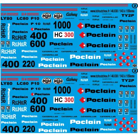 46.030 poclain 1/50eme